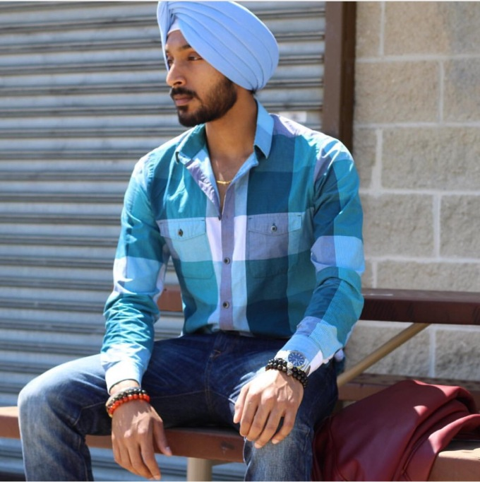 The Modern Sikh in T. Nicole Designs' Fidelis Bracelet Collection